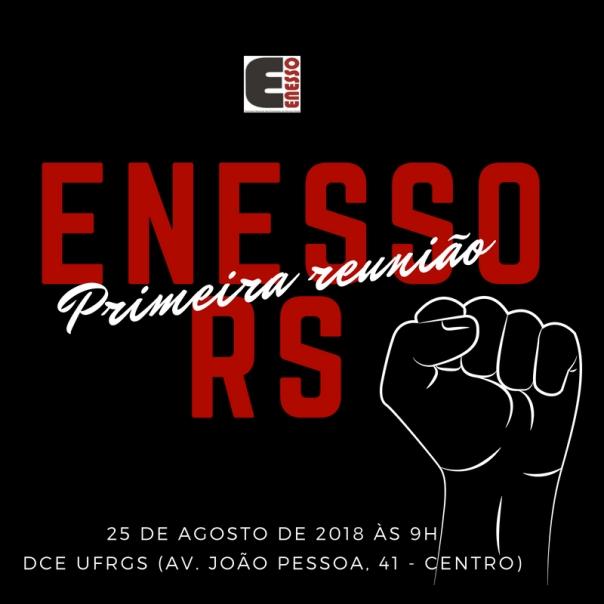 PRIMEIRA REUNIÃO RS